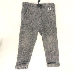 Zara grey speckled pants. 2-3 years